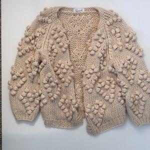 Chunky Heart sweater